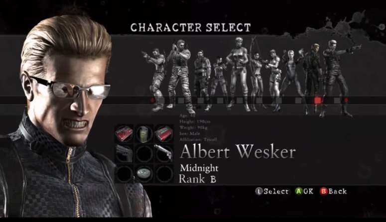 It'll be fun and interesting to see Wesker in a mode other than something like this in today's climate.