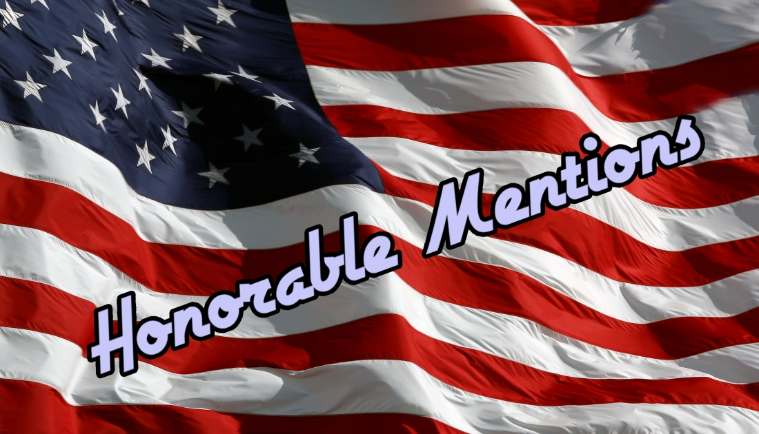 honorable mention flag