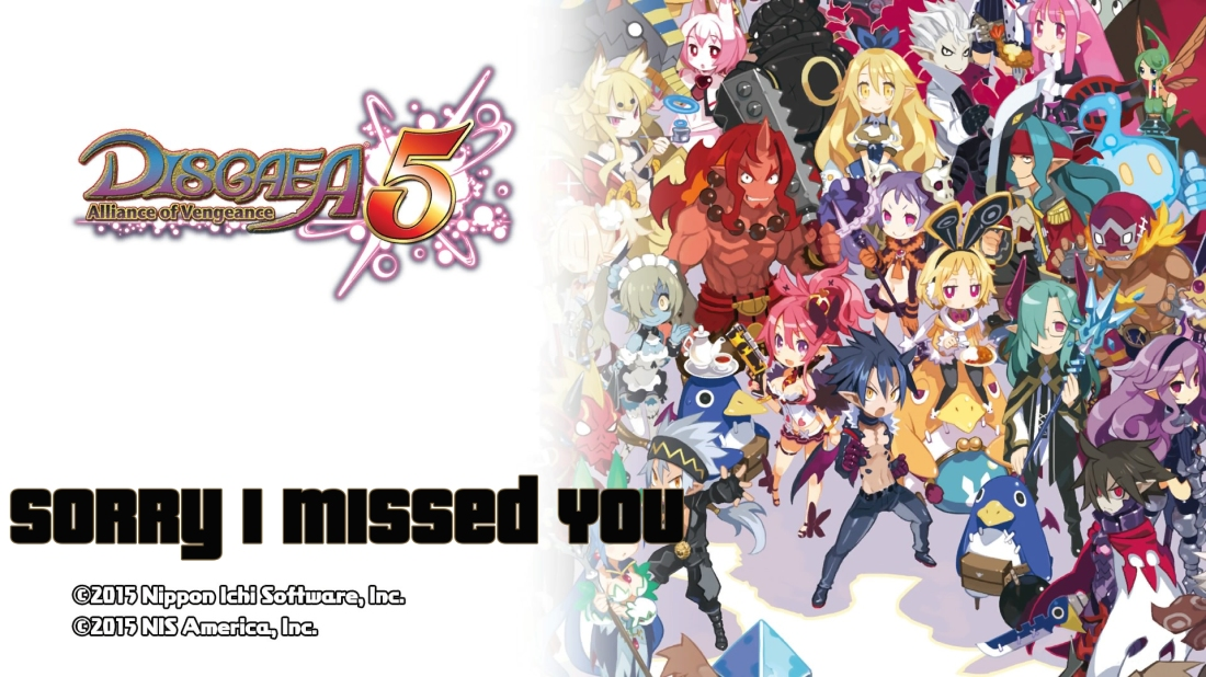 Disgaea 5: Alliance of Vengeance Demo Version_20150925123001