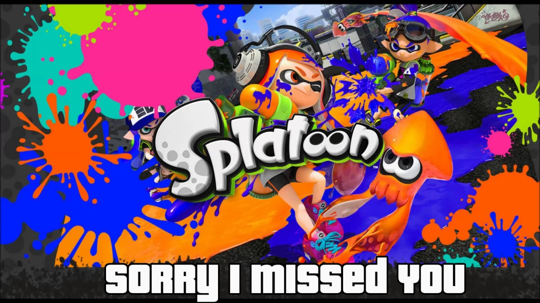 SORRY - splatoon