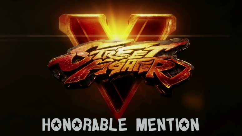 Honorable Mention Street Fighter 5