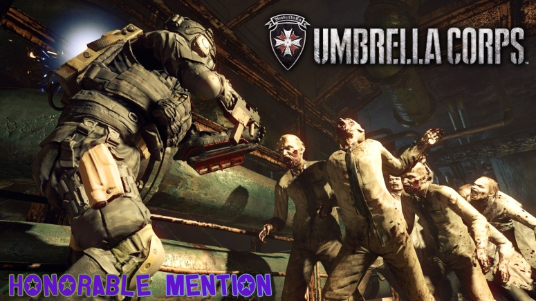 Honorable Mention Umbrella Corps