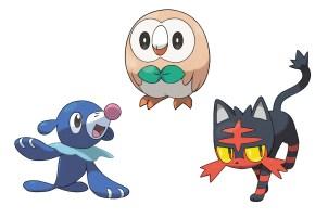 Pokemon_SunMoon_Starters