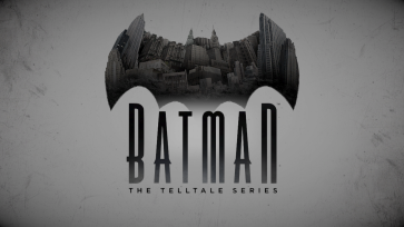 Batman - The Telltale Series - Logo White