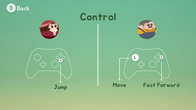 Very simple controls await you.