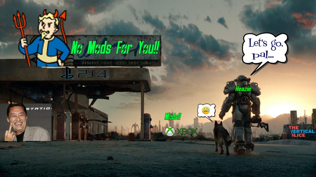 no-mods-for-ps4