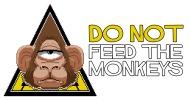 do-not-feed-the-monkeys-landscape-logo-big-white