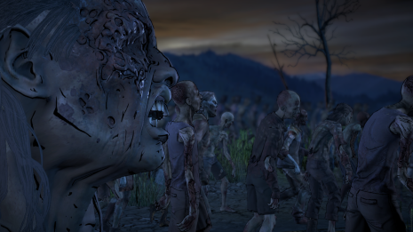 Telltale has really upped their modeling game with the zombies this go 'round.
