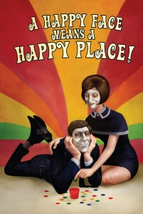 PAX poster 01 - A Happy Face Means a Happy Place