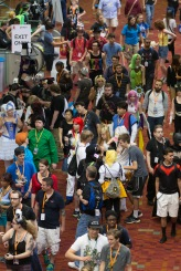 during MomoCon 2015 at the Georgia World Congress Center on Saturday, May 30, 2015 in Atlanta. (Paul Abell / AP Images for MomoCon)
