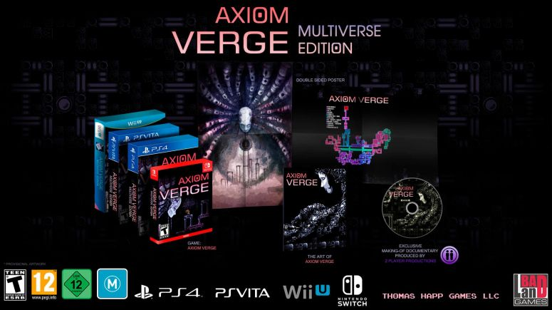 All versions AXIOM_VERGE_Mock-up - multiverse edition