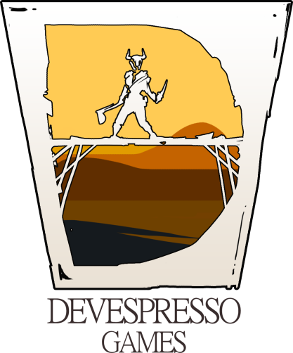 Devespresso_Games_White_Glass_Logo