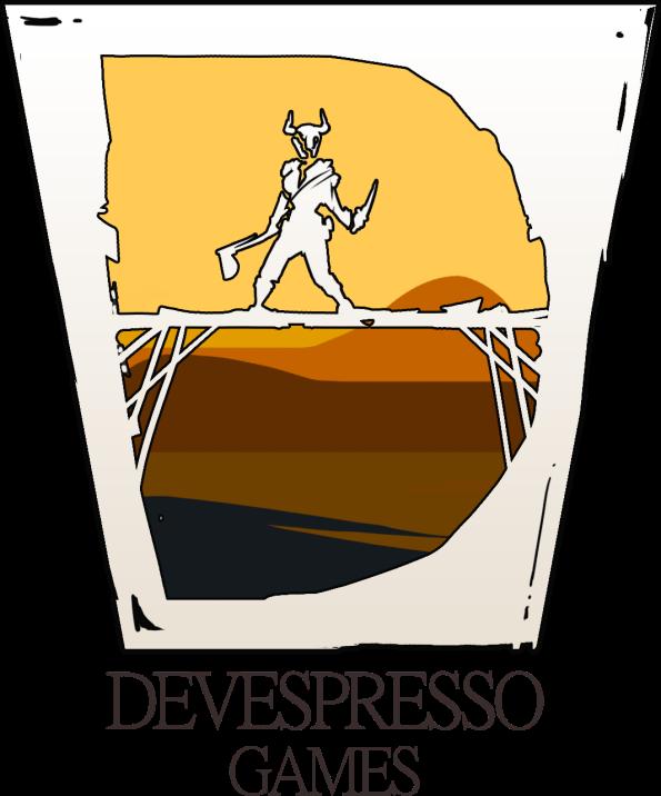 Devespresso_Games_White_Glass_Logo