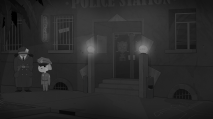Paper City Police Station