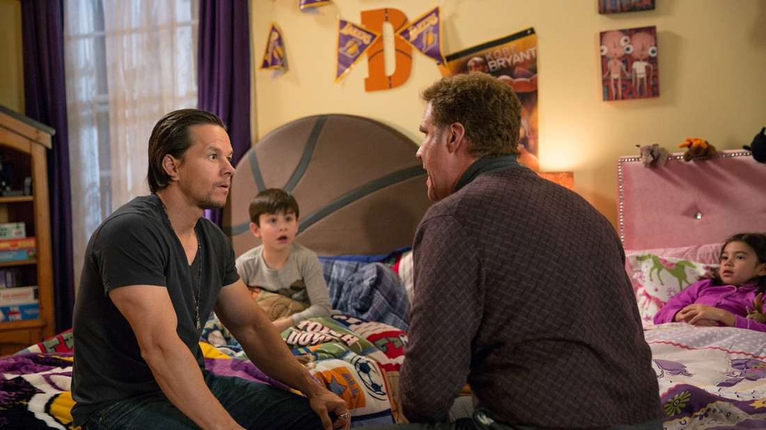 daddy's home ferrell wahlberg face-off