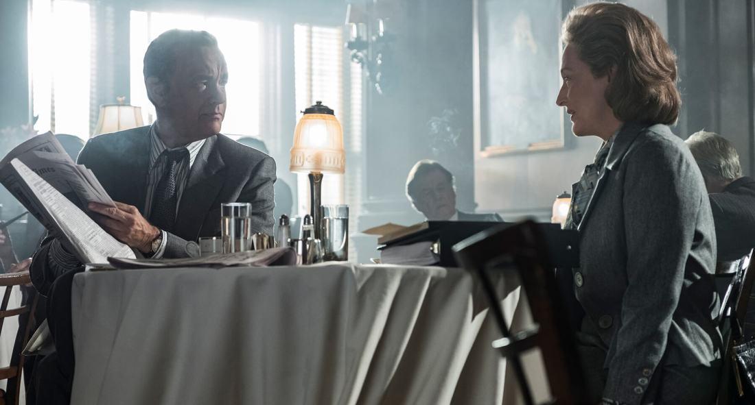 Hanks & Streep (Ben Bradlee & Katharine Graham)