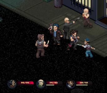 Pixel noir screenshot fight
